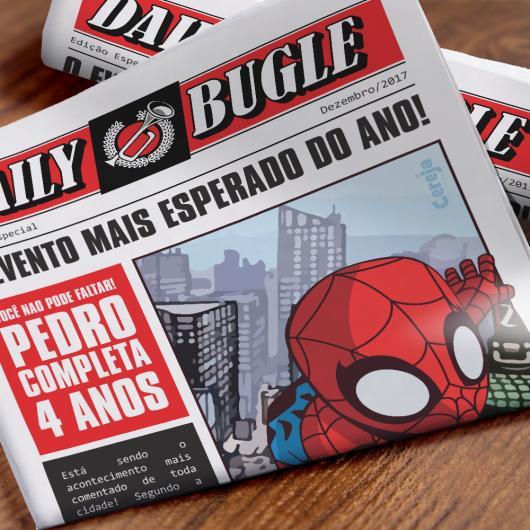 Spider-Man Birthday Party Invitations