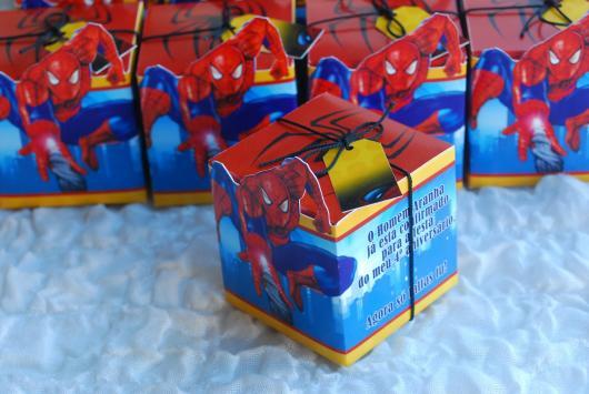 Spider-Man Invitations Printed Box
