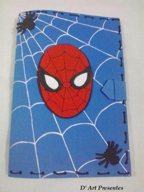 Homemade Spider-Man Invitations