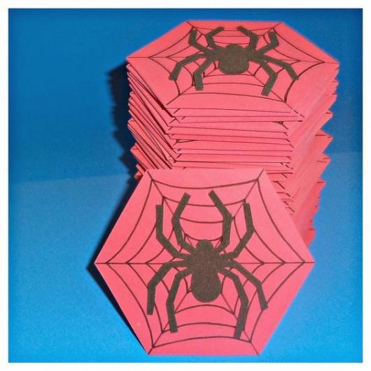 EVA Spiderman Invitations