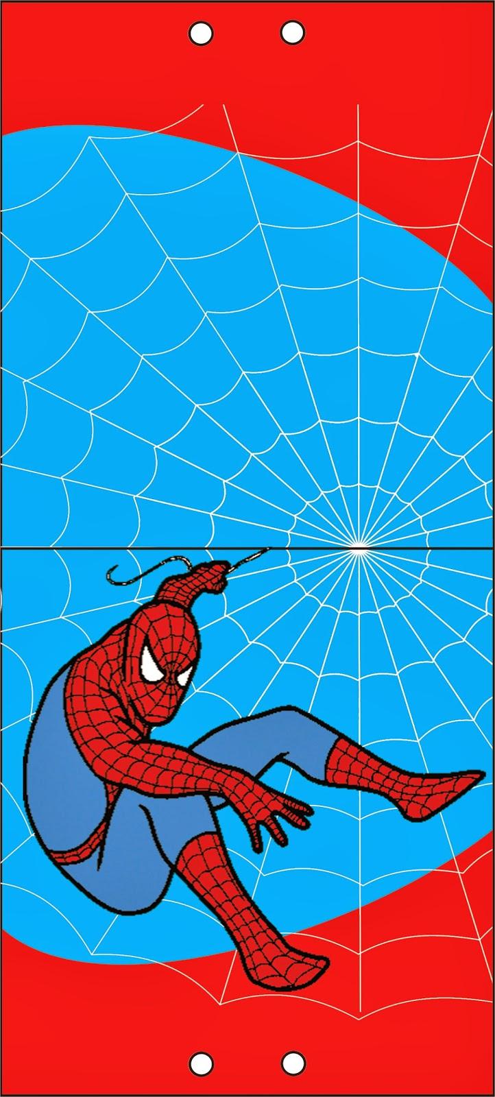 Spider-Man Lollipop Invitations to Print