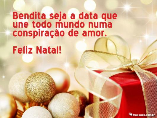 Christmas messages for original Festas Site customers