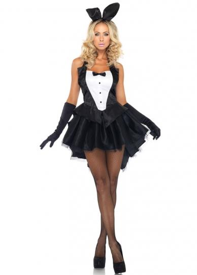 Bunny costume frilly skirt