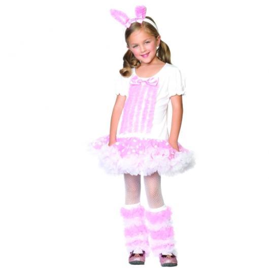 Children's bunny costume with skirt
