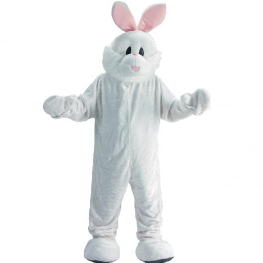 White easter bunny costume