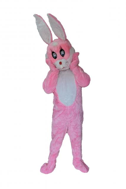 Bunny costume for easter pink