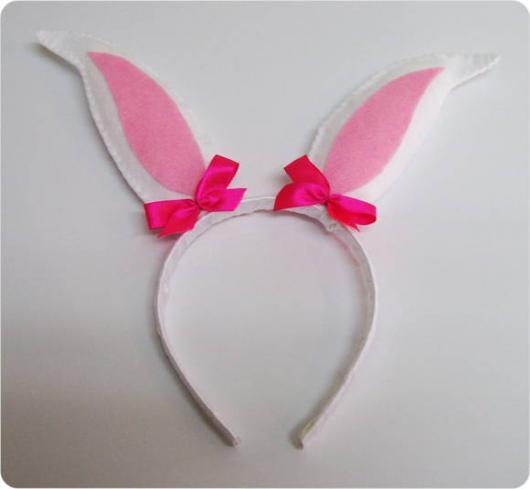 Felt tiara bunny costume