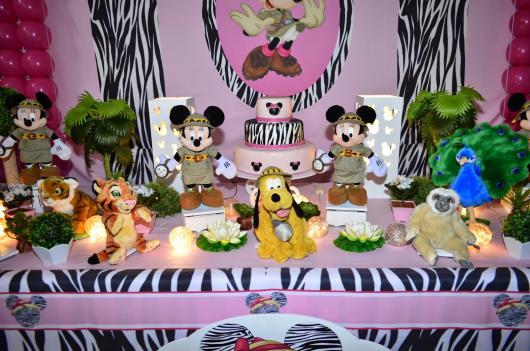 Minnie Safari Party