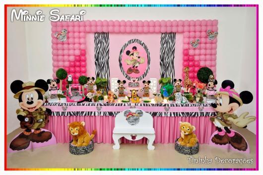 Pink Minnie Safari Party