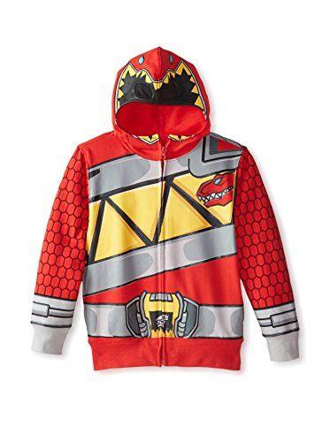 Red Dino Charge Sweatshirt.