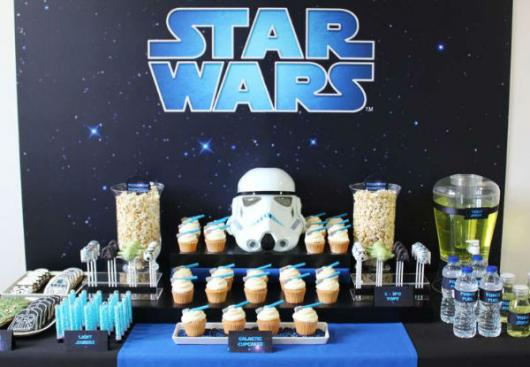 Homemade Star Wars Party