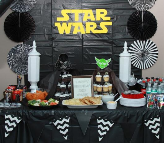 Star Wars Party Paper Panel