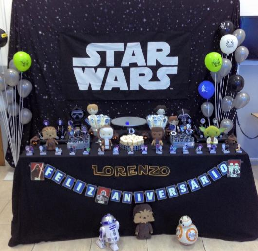 Star Wars Party Flags Panel