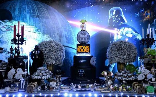 Luxury Star Wars Party