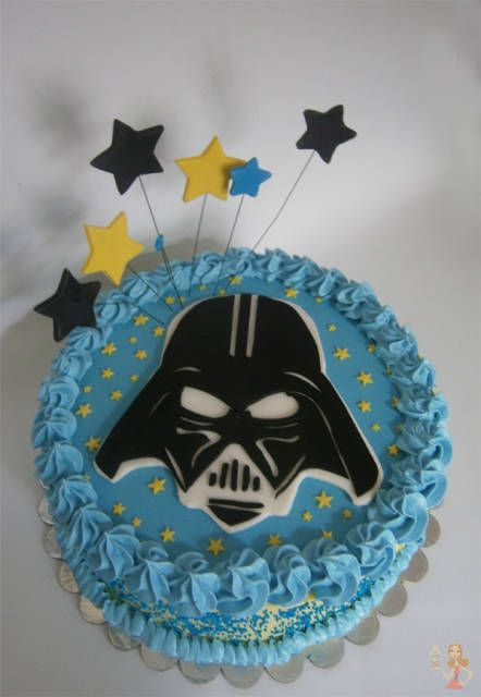 Star Wars icing cake party