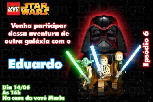 Star Wars Party Invitation Card