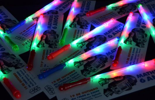 Star Wars Lightsaber Party