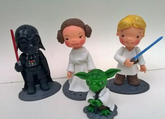Star Wars party favor biscuit