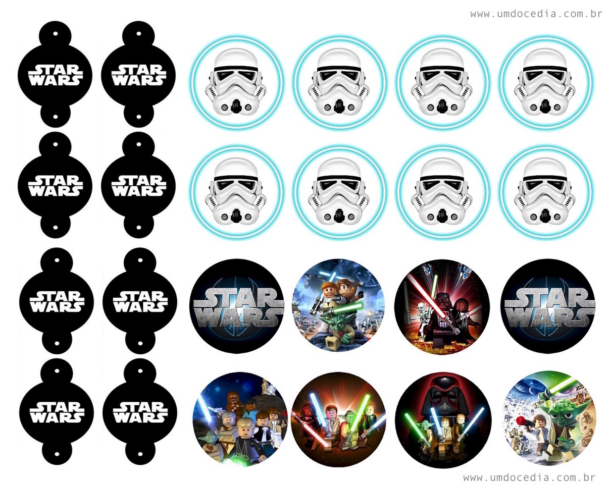 Star Wars Party Print Party Kit