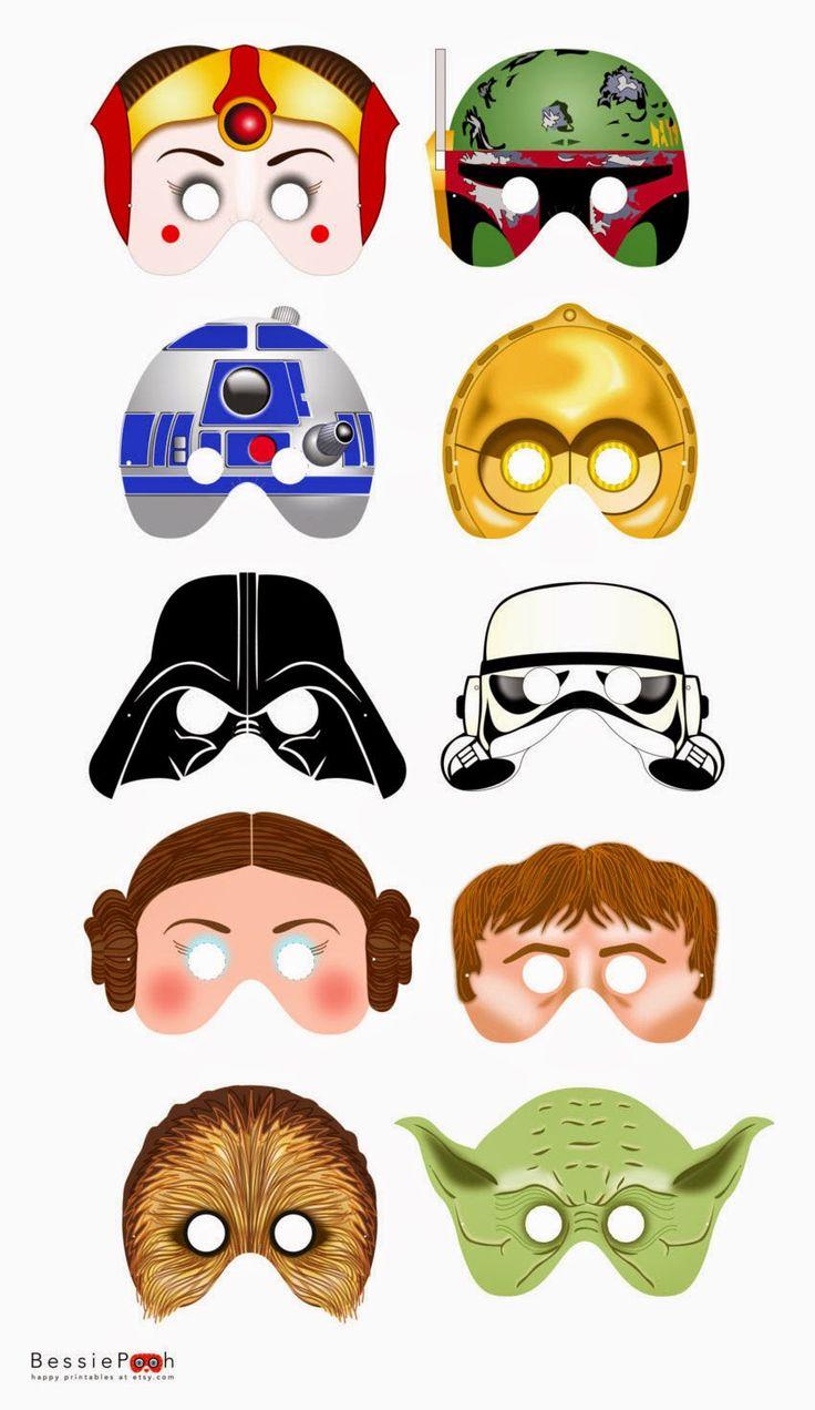 Star Wars Party Mascara Kit Print