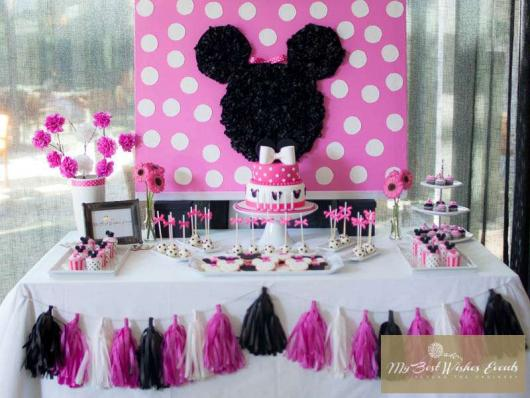 Minnie Party Pink Simple Model