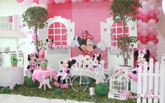 decoration Minnie's party pink provencal