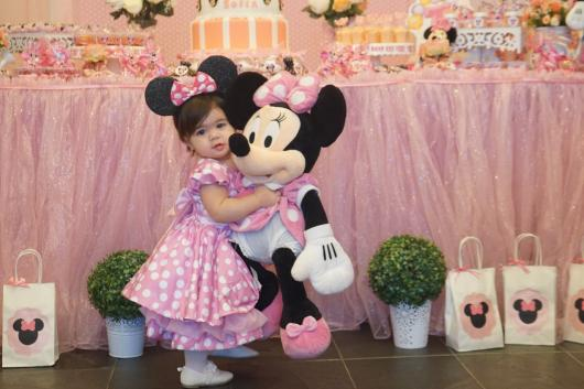 Minnie pink baby party