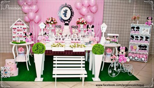 Minnie's Party Pink Provencal Tips