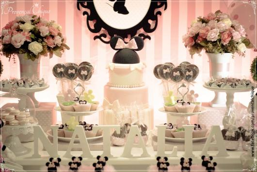 Pink Minnie Party in a Provencal style
