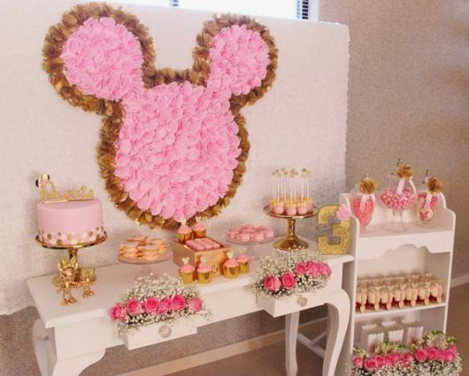 Pink and Gold Minnie Party