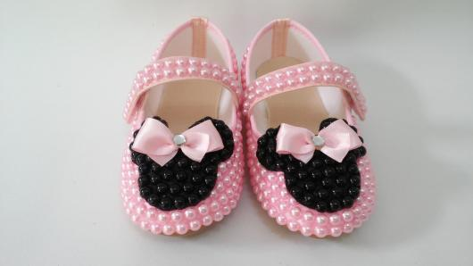Minnie Pink Slip On Party