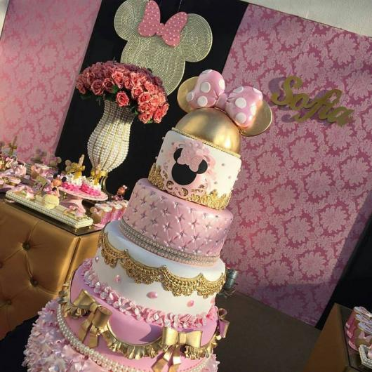 minnie's party cake tips