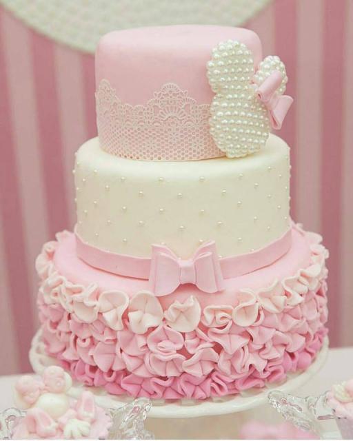 Minnie's Pink Cake Three Floor Party