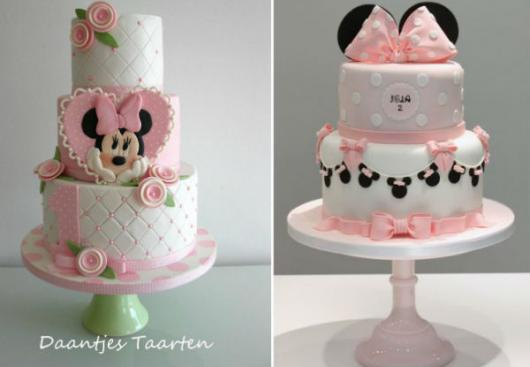 Pink Minnie Party Cake Options