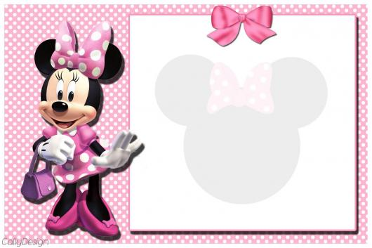 Minnie's Party Pink Invitation Tip