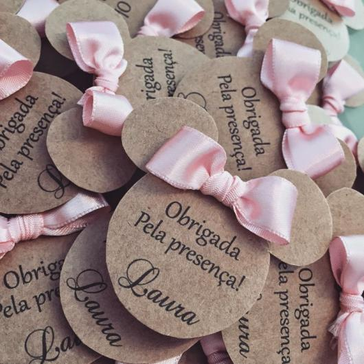Minnie pink party favor