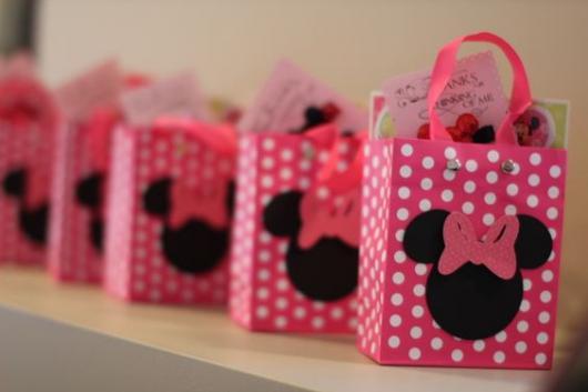 Minnie Party Pink Souvenir Bag