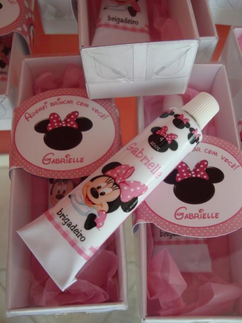 Minnie Pink Brigadeiro Keepsake Party
