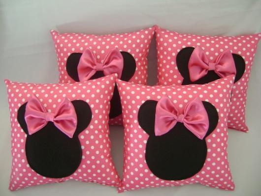 Minnie's Party Pink Souvenir Pillows