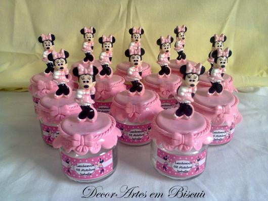 Minnie's party pink souvenir jars