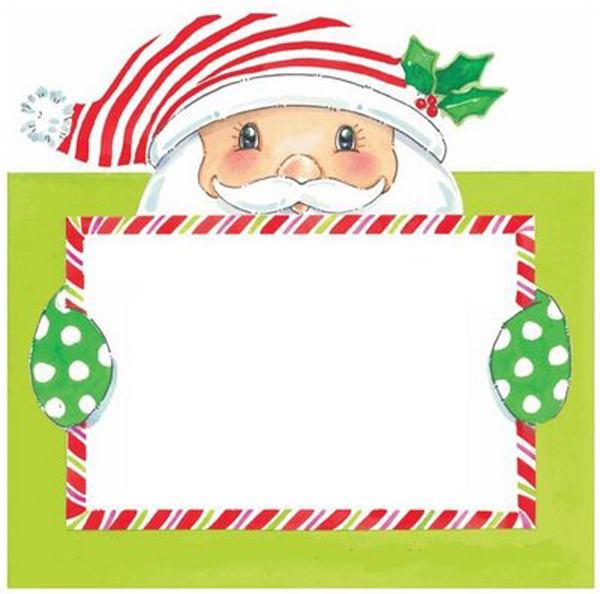 virtual card Santa Claus