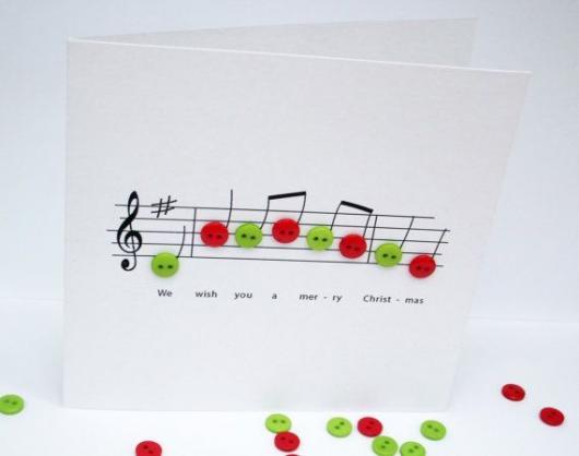 simple music card