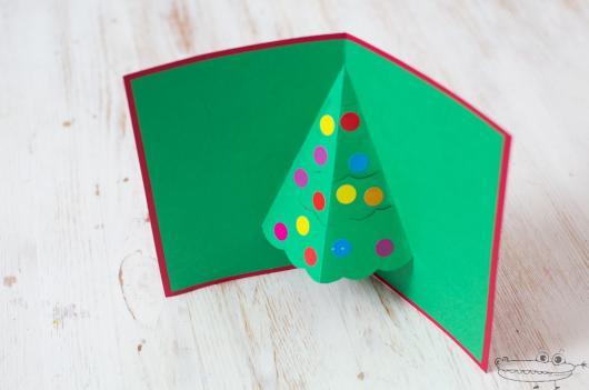 simple 3D card