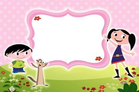 Luna Show invitation to print in pink