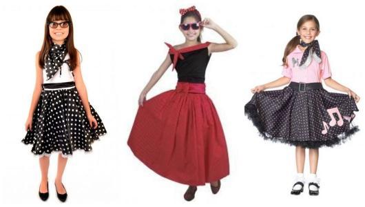 Three dress ideas for girls.