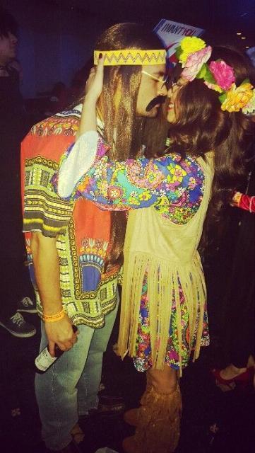 1960s hippie costumes.