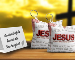 keychain with Jesus as gospel party favors