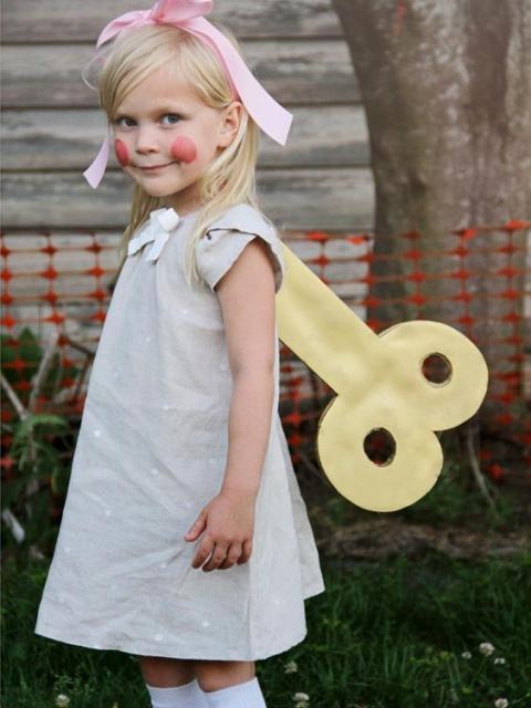 simple doll costume
