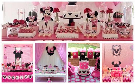 minnie pink party awesome tips