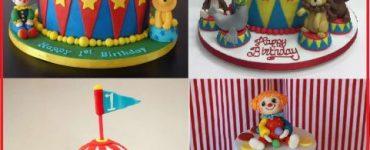 ideas for fake cake theme circus